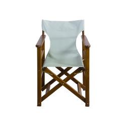 Katlanabilir Ahşap Sandalye İç-Dış Mekan Ev-Cafe-Bahçe - Rejisör - Thumbnail