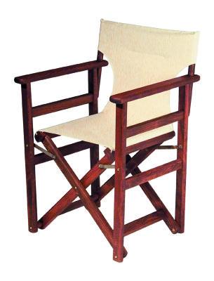 Katlanabilir Ahşap Sandalye İç-Dış Mekan Ev-Cafe-Bahçe - Rejisör