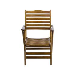 Katlanabilir Ahşap Sandalye - Madrid - Thumbnail