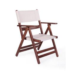 Atina PVC - Katlanır Ahşap Sandalye - Atina PVC